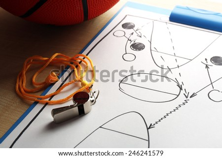 Paper basketball game