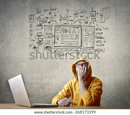 Schemes  - stock photo