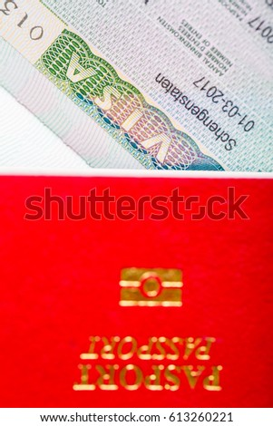 Schengen visa for travel in Europe country.Multiple country.