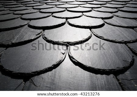 Slate Roof Stock Photos Images Amp Pictures Shutterstock