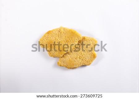 schnitzel - stock photo