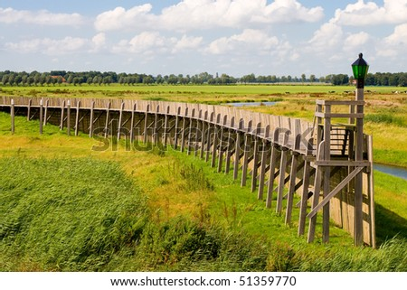 Schokland (Netherlands) - stock photo