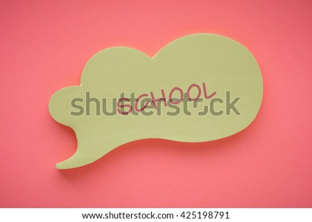 School - stock photo