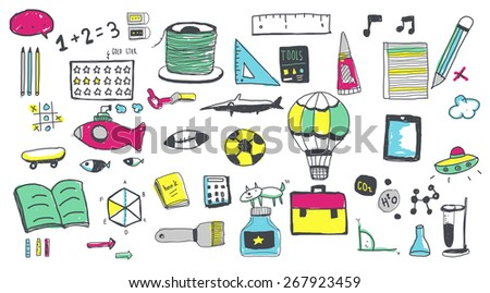 School Activity Sport Hobby Leisure Game Concept - stock photo
