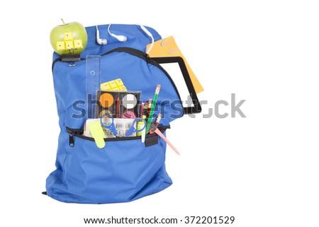 school bag - stock photo