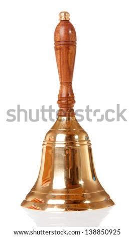 school bell - stock photo