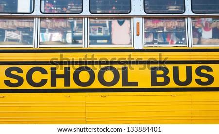 School Bus. - stock photo