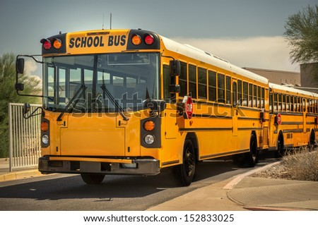 School bus - stock photo