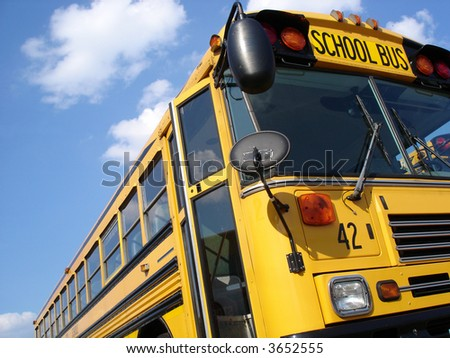 School Bus 42 - stock photo