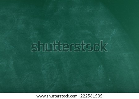 School chalkboard - stock photo
