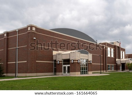School Gymnasium - stock photo