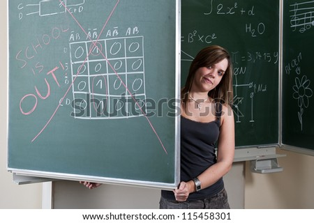 School is out - stock photo