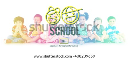 School Learning Studying Education Knowledge Concept - stock photo