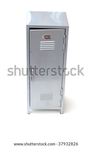 school locker - stock photo
