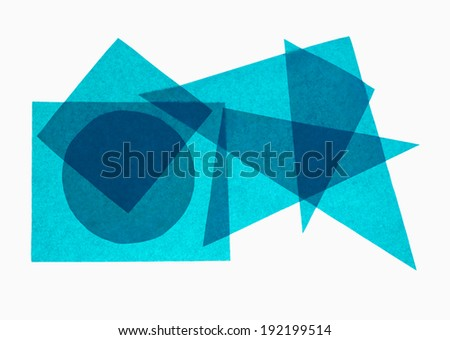 School Maths Geometry Aka Geometric Shapes Stock Photo (Royalty Free ...