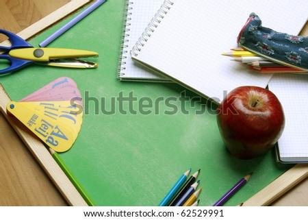 School object - stock photo