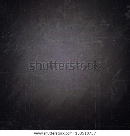 school sketches on blackboard - stock photo