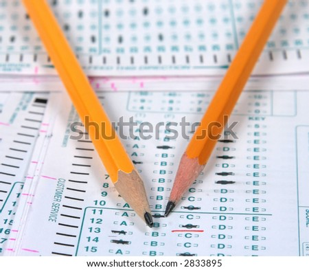 School Testing - stock photo