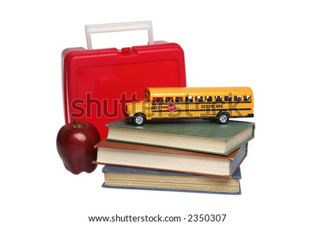 School Things - stock photo