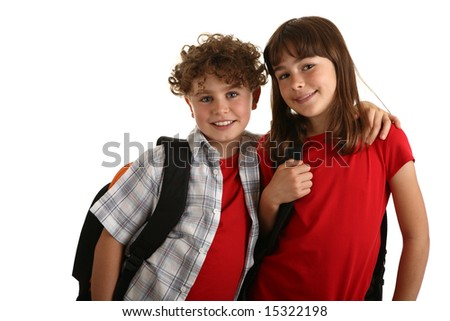School time - stock photo