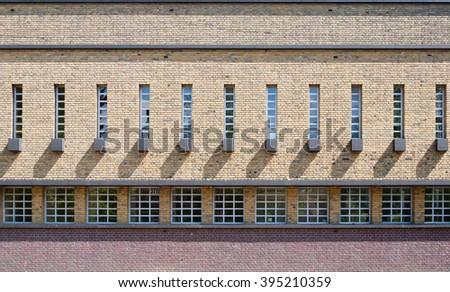 School wall - stock photo