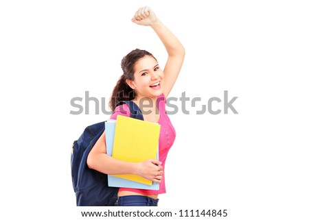 School year has come to an end - stock photo