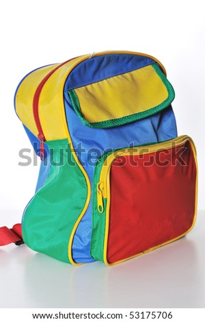 Schoolbag - stock photo