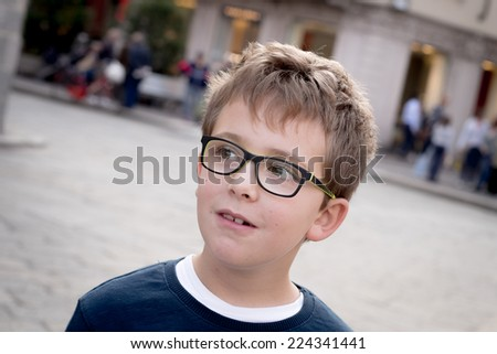 Schoolboy Portrait - stock photo