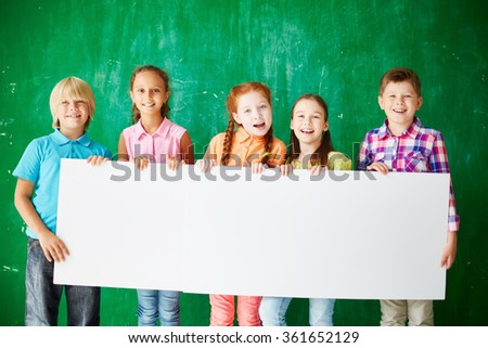 Schoolchildren - stock photo