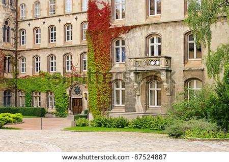 Schulpforte abbey - stock photo