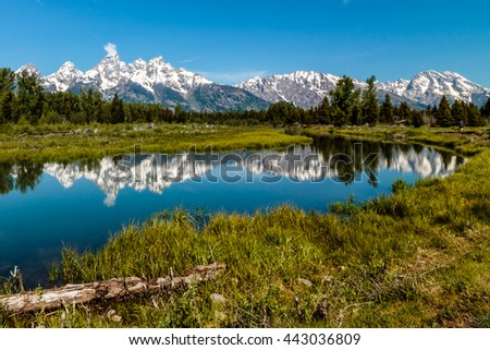 Schwabachers Landing Grand Teton National Park