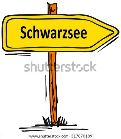 Schwarzsee,   Austria - stock photo