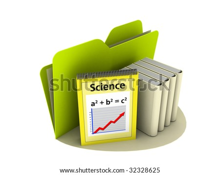 Science Icon with mathematics formula