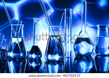 science laboratory test tubes , laboratory equipment