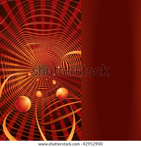 Science or Technology Backdrop with space for text. - stock photo