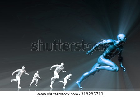 Science Research and Development for Healthcare and Anatomy - stock photo