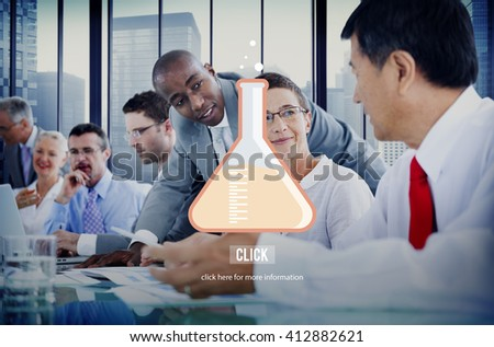 Science Research Chemistry Lab Concept - stock photo