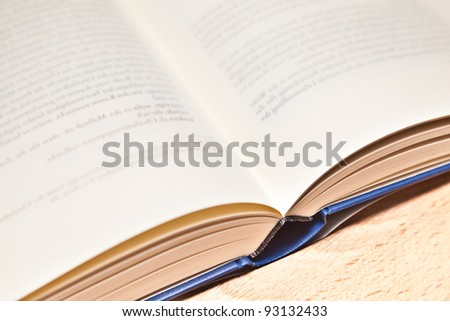 Scientific book - stock photo