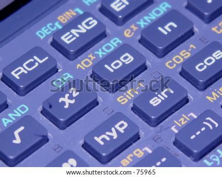 Scientific Calculator - stock photo
