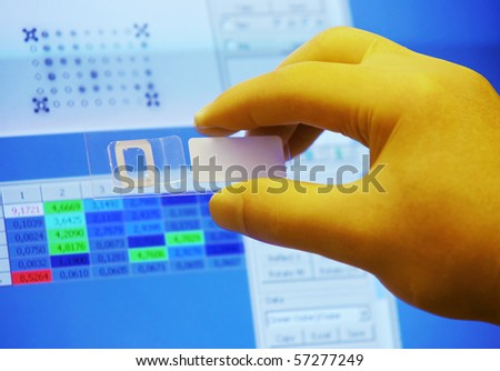 Scientific research - stock photo