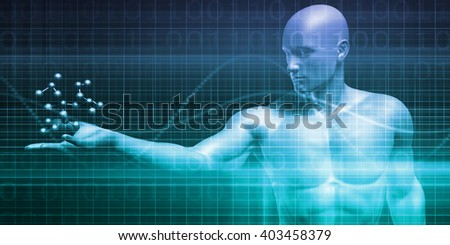 Scientific Research Chart for Medical Sales Art 3D Illustration Render