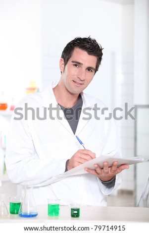 Scientist - stock photo