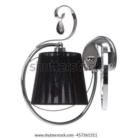 sconce isolated