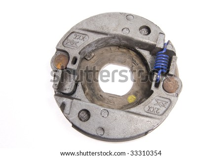 Scooter clutch - stock photo