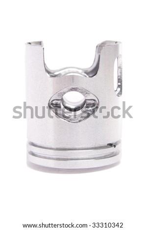 Scooter piston - stock photo