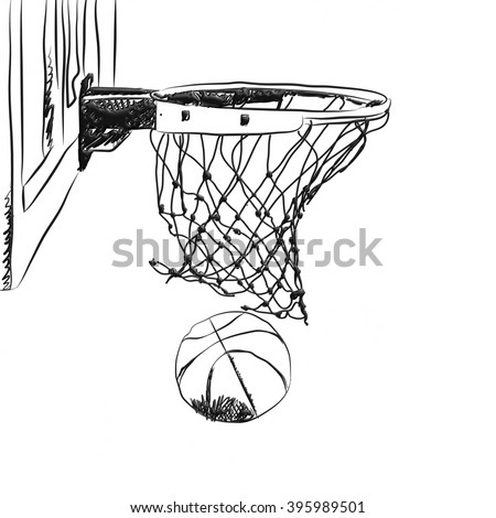 Scoring Winning Points Basketball Game 3d Stock Illustration 395989537 - Shutterstock