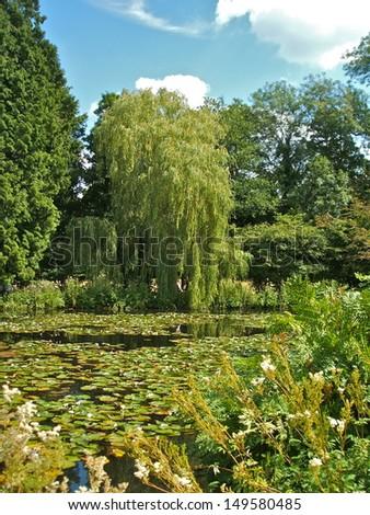 Scotney Castle and Garden - stock photo