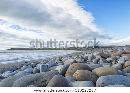 Scottish beach - stock photo