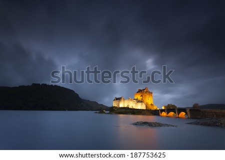 Scottish Castle - stock photo