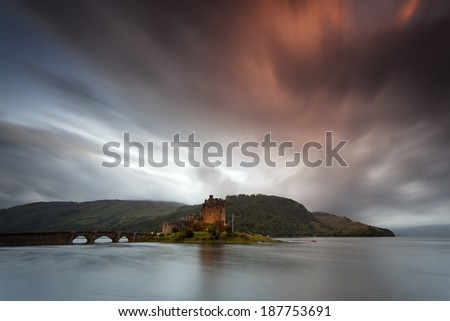 Scottish Castle III - stock photo